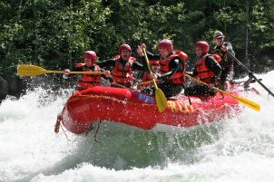 Nahatlatch whitewater rafting