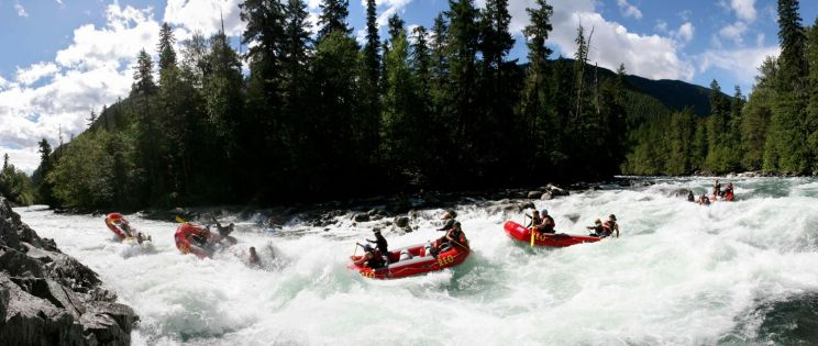 Rafting & Glamping at the Nahatlatch River near Vancouver BC