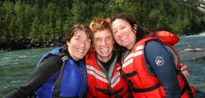 Ladies Weekend Rafting Getaway